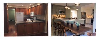 Erickson Drive, Whitby Kitchen Renovation