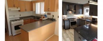Norhill Court, Richmond Hill Kitchen Renovation