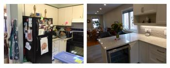 Meadow Wood Drive, Aurora Kitchen Renovtion