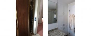 Linen Closet, Holland Landing Bathroom Renovation