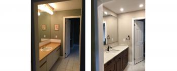 Ward Avenue, Sharon Bathroom Renovation