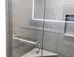 Built-in corner shower seat Kestle design