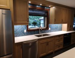 Built-In undercounter Whirlpool dishwasher, Kestle Interiors Newmarket