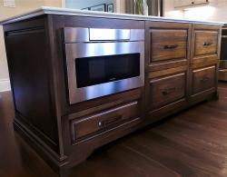 "Sharp 24"" microwave-drawer Kestle Interiors"