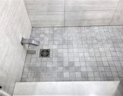 Tiled shower base Newmarket design