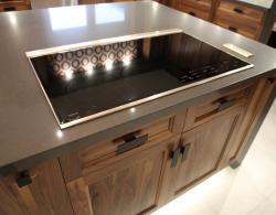Clean Counter Stove Kitchen Island Installation Sharon