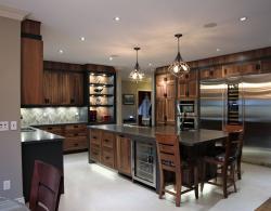 Dark Brown Sharon Kitchen Designs and Renovations
