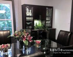 Contemporary dining room hutch Kestle Interiors