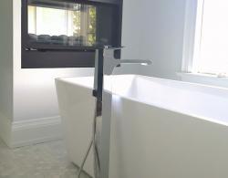 Free-Standing White Tub Thornhill Bathroom Renovations