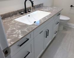 Quartz Countertop Bathroom Renovations Bradford