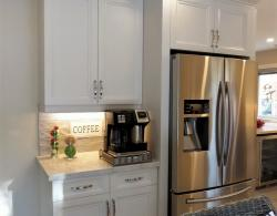 Samsung Counter-depth French Door Refrigerator with Cool Select Pantry # Kestle Interiors