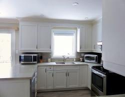White Kitchen Design Sharon Ontario